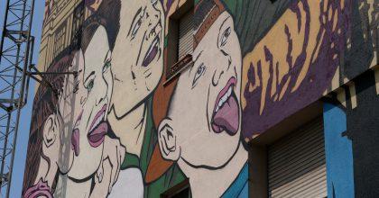 Italský Milán zdobí mural skněžnou Libuší vkampani CzechTourism