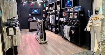 Hard Rock otevírá svůj Rock Shop naletišti
