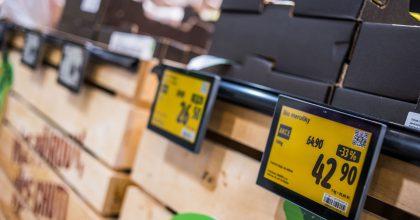 Každá třetí prodejna Albert využívá elektronické cenovky