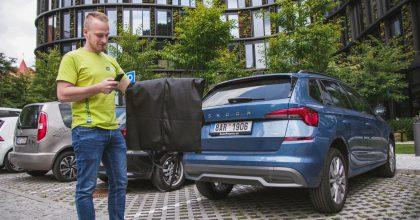 Alza, Dodo čiZásilkovna spouští se Škoda  Auto doručování dokufrů aut