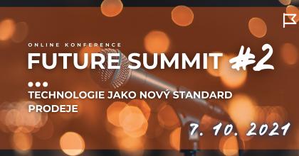 Druhý Future Summit proběhne nazačátku října