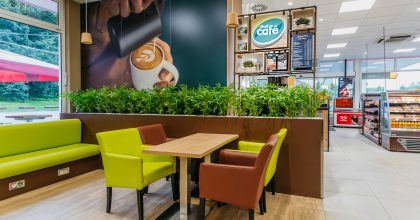 Shell představuje novou značku Shell Café