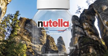 Nutella má edici pomazánek snejhezčími místy Česka