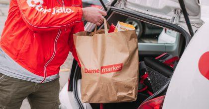 Dáme jídlo spustilo vPlzni službu Dáme market, doručovat nákupy bude do30 minut