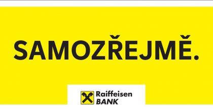 Raiffeisenbank představuje nový komunikační koncept Samozřejmě