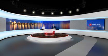 TV Nova má moderní studio pro Televizní noviny iweb tn.cz