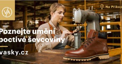 Značka obuvi Vasky plánuje 360° kampaň achystá spolupráci sPreciosou