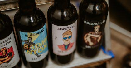 Projekt Have.beer digitalizuje pivní lahve spersonalizovanou etiketou arecepturou
