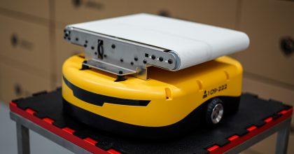 PackMan. Zásilkovna představila nové třídící roboty vdepech
