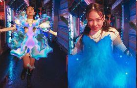 Samsung se spojil skorejskou hvězdou apředstavil módní kolekci vAR